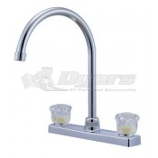 Relaqua High Arch Satin Nickel Kitchen Faucet