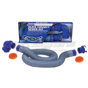 Prest-O-Fit Blueline 10' Quick Connect Sewer Kit