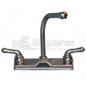 Utopia Brushed Nickel High-Rise Kitchen Faucet