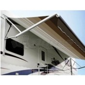 Dometic Polar White 9100 Power Patio Awning Standard Hardware