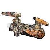 Empire Brass Company Lever Handle Green Camouflage Lavatory Faucet