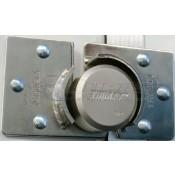 Trimax 2pc Hockey Puck Door Hasp