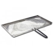 "Magma 8"" x 17"" Fish & Veggie Stainless Steel Grill Tray"