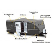 "ADCO Designer SFS Aqua Shed Travel Trailer Cover for Trailers 26'1"" - 28'6"""
