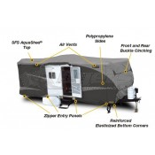 ADCO Designer SFS Aqua Shed Travel Trailer Cover for Trailers 15' - 18'