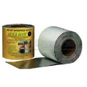 """Quick Roof 6"""" x 33' Aluminum Water Proof Roof Repair"""