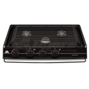 Atwood Wedgewood Black 3-Burner Slide-In Cooktop