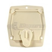 RV Designer Colonial White Cord Cable Hatch