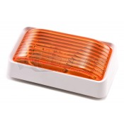 Bargman Compact White/Amber Porch Light 3178532