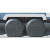 "ADCO Black 24""-26"" Single Axle Tyre Gards"