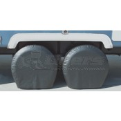 "ADCO Black 36""-39"" Single Axle Tyre Gards"
