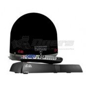 Winegard Black Pathway X1 Fully Automatic Portable DISH Satellite WITH ViP211z Receiver Bundle