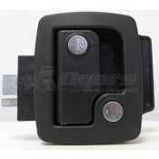 AP Products Black Travel Trailer Lock (Fastec)