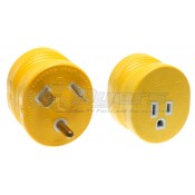 Camco 30 Amp M to 15 Amp F Electrical Adapter