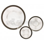 3 sizes to fit most drain applications