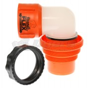 Camco RhinoFLEX RV Sewer Hose Swivel Dump Station Elbow Fitting