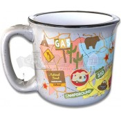 Camp Casual The MUG - Travel Map