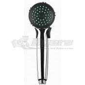 DURA Chrome Single Function Hand Held Shower Head