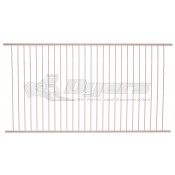 Dometic 19-3/4 x 10-1/2 White Wire Shelf