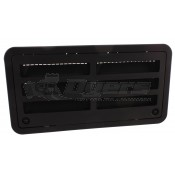 """Dometic Black 20"""" Side Vent Assembly"""