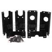 "Dometic Black 6"" Back Channel Spacer Kit"