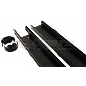 Dometic Black Back Channel Spacer and Bracket Kit