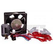 Dometic Single Door Black Power Ventilator Assembly