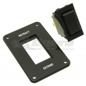 Dometic Black Replacement Power Awning Switch