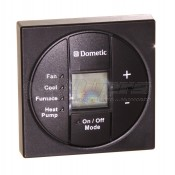 Dometic Black Single Zone Cool/Furnace/Heat Pump LCD Digital Thermostat