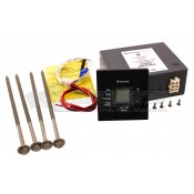 Dometic Black Single Zone Fan/Cool/Furnace/HP LCD Thermostat Control Kit