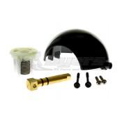 Dometic Metal Pedal Black Toilet Ball, Shaft and Cartridge Kit