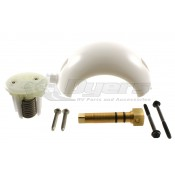 Dometic Metal Pedal Toilet Ball, Shaft and Cartridge Kit
