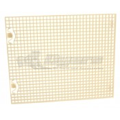 Dometic Non-Ducted Brisk Air Return Grill Shell White
