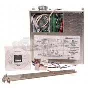Dometic Polar White Single Zone Control Kit and LCD Heat Strip Thermostat