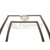 Dometic RM7030 and RM7130 Refrigerator Brown Door Gasket Kit