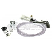 Dometic Sealand Chrome Traveler Toilets Vacuum Breaker with Spray Kit