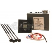 Dometic Single Zone Cool/Furnace Control Kit with Black LCD Thermostat