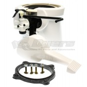 Dometic White 510/910/2010 Toilet Base Kit