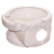 Dometic White Short Base Cover