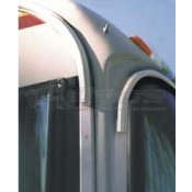 EZE White 100' RV Gutters