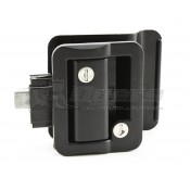 Fastec Black Travel Trailer Lock 43610-06-SP