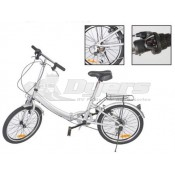 "Faulkner 6-Speed Folding Bicycle 20"" Inch Rim"