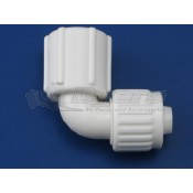 "Flair-It 1/2"" Flare x 3/4"" FPT Swivel Elbow Adapter"