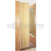 "Irvine 36"" x 75"" Colonial White Folding Door"