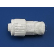 """Flair-It 3/8"""" Flare x 3/8"""" MPT Adapter"""