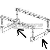 PullRite SuperGlide 16K & 20K SuperRail for Ford 2004 - 2014: F150 (6-1/2' bed) FRAME BRACKET KIT ONLY