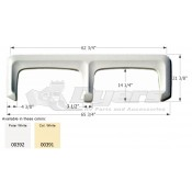 Icon Colonial White Tandem Fender Skirt FS310