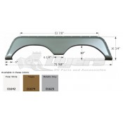 Icon Taupe Jayco Tandem Fender Skirt FS771