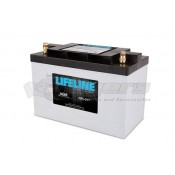 LifeLine 12V RV Deep Cycle 125ah AGM Battery