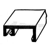 AP Products Black 8' Insert Trim for Hehr Window/Doors